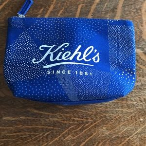 Kiehl's  2018 holiday Bannecker cosmetic bag